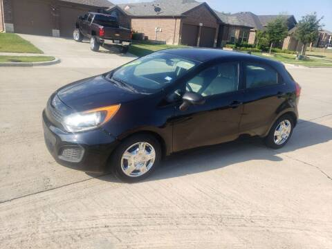 2012 Kia Rio 5-Door for sale at El Jasho Motors in Grand Prairie TX