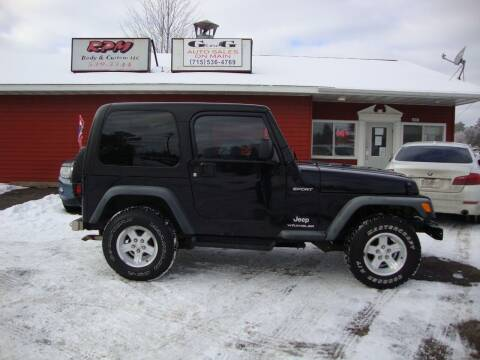 2006 Jeep Wrangler for sale at G and G AUTO SALES in Merrill WI