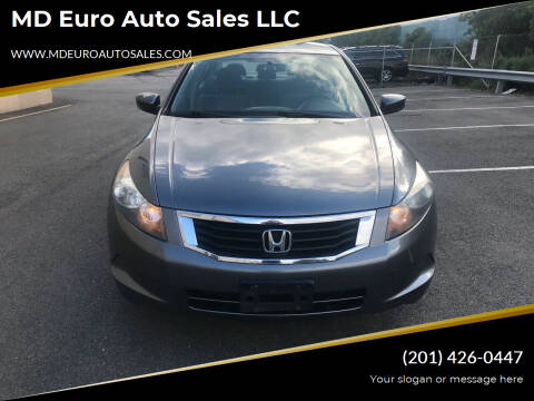 2009 Honda Accord for sale at MD Euro Auto Sales LLC in Hasbrouck Heights NJ