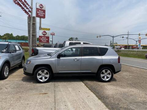 2017 Jeep Compass for sale at Direct Auto in D'Iberville MS