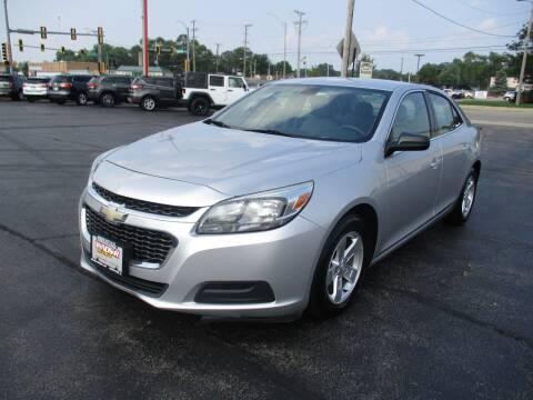 2015 Chevrolet Malibu for sale at Windsor Auto Sales in Loves Park IL