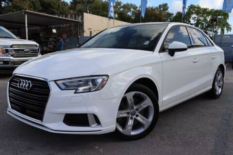 2018 Audi A3 for sale at OCEAN AUTO SALES in Miami FL