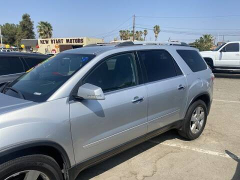 2012 GMC Acadia for sale at New Start Motors in Bakersfield CA