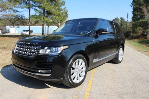 2016 Land Rover Range Rover for sale at Oak City Motors in Garner NC