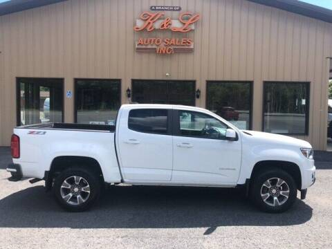 2018 Chevrolet Colorado for sale at K & L AUTO SALES, INC in Mill Hall PA