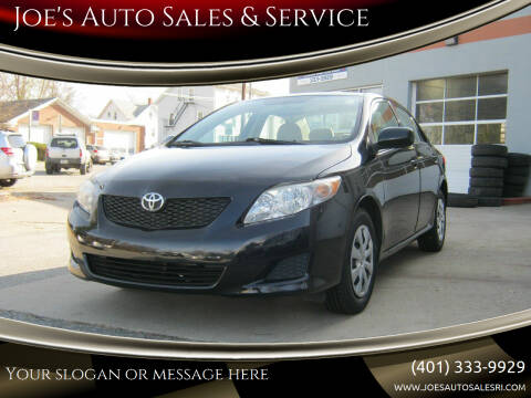 2010 Toyota Corolla for sale at Joe's Auto Sales & Service in Cumberland RI