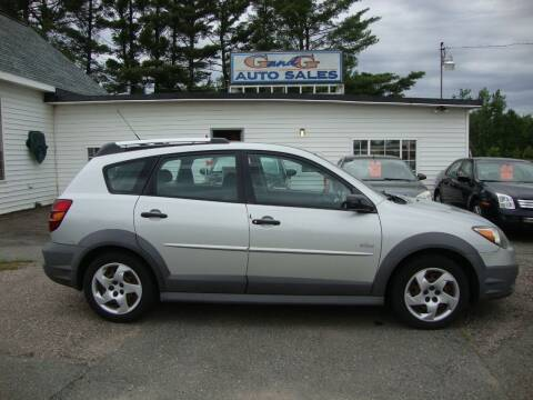 2004 Pontiac Vibe for sale at G and G AUTO SALES in Merrill WI
