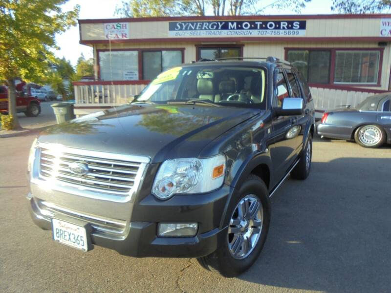 2010 Ford Explorer for sale at Synergy Motors - Nader's Pre-owned in Santa Rosa CA