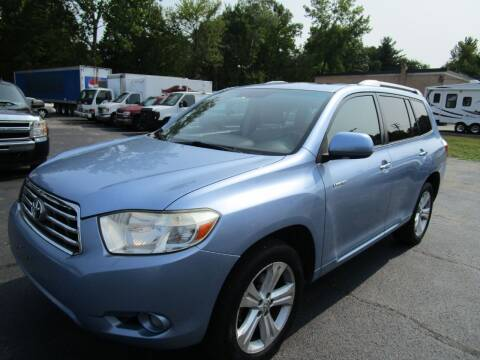 2008 Toyota Highlander for sale at Route 12 Auto Sales in Leominster MA