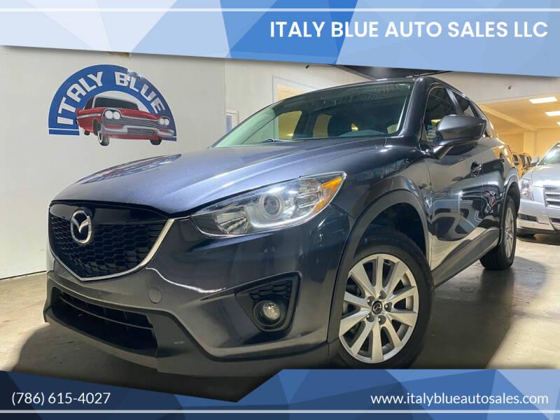 2014 Mazda CX-5 for sale at Italy Blue Auto Sales llc in Miami FL