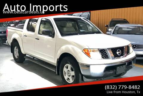 2006 Nissan Frontier for sale at Auto Imports in Houston TX
