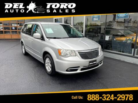 2012 Chrysler Town and Country for sale at DEL TORO AUTO SALES in Auburn WA