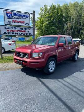 2006 Honda Ridgeline for sale at ROUTE 11 MOTOR SPORTS in Central Square NY