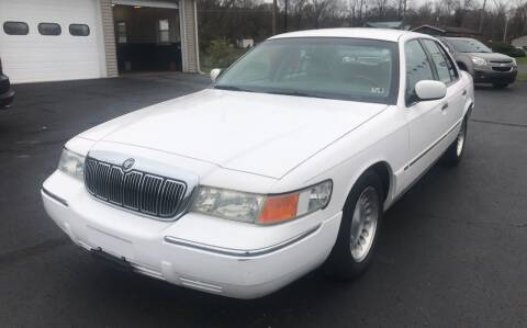 2002 Mercury Grand Marquis for sale at Baker Auto Sales in Northumberland PA