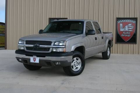 2004 Chevrolet Silverado 1500 for sale at V12 Auto Group in Lubbock TX
