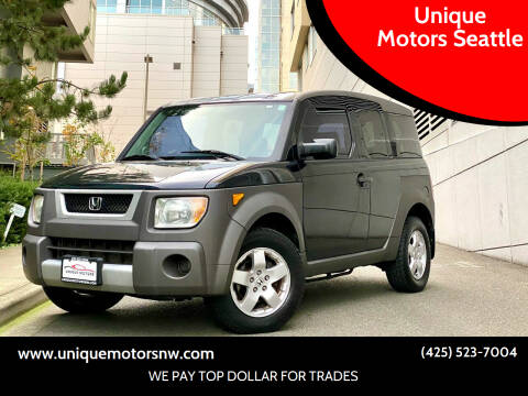 2003 Honda Element for sale at Unique Motors Seattle in Bellevue WA