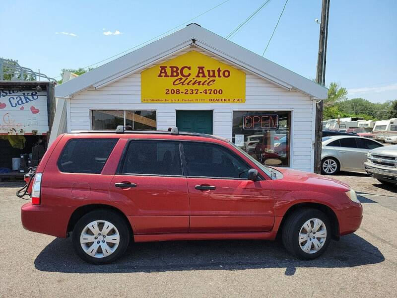 2008 Subaru Forester for sale at ABC AUTO CLINIC - Chubbuck in Chubbuck ID