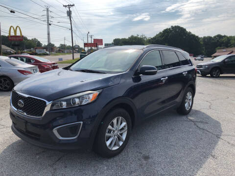 2016 Kia Sorento for sale at Penland Automotive Group in Laurens SC