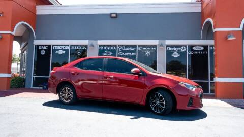 2014 Toyota Corolla for sale at Car Depot in Miramar FL