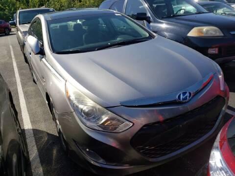 2011 Hyundai Sonata Hybrid for sale at Glory Auto Sales LTD in Reynoldsburg OH