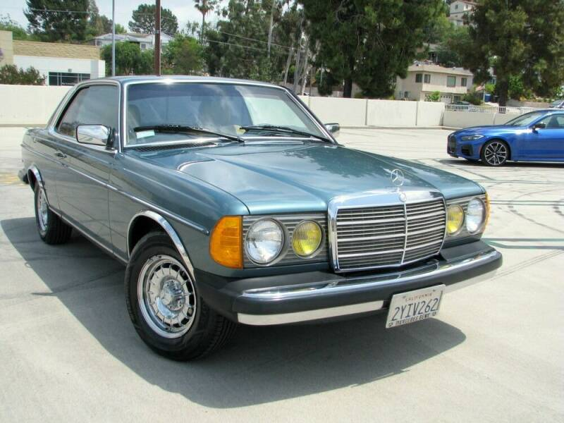 1984 Mercedes-Benz 300-Class for sale at Used Cars Los Angeles in Los Angeles CA