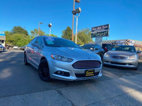 2016 Ford Fusion for sale at Save Auto Sales in Sacramento CA