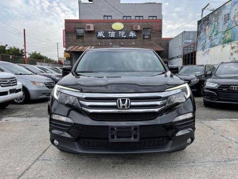 2017 Honda Pilot for sale at TJ AUTO in Brooklyn NY