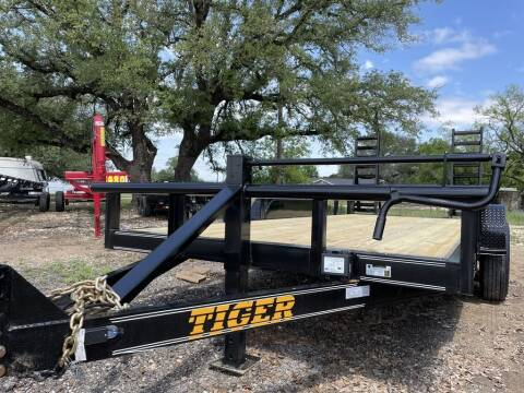"2021 TIGER  - Equipment 83"" X 18' -  for sale at LJD Sales in Lampasas TX"
