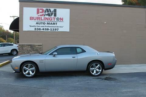 2013 Dodge Challenger for sale at Burlington Auto Mart in Burlington NC