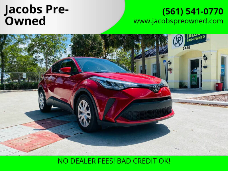 2020 Toyota C-HR for sale at Jacobs Pre-Owned in Lake Worth FL
