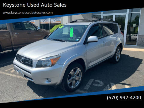 2008 Toyota RAV4 for sale at Keystone Used Auto Sales in Brodheadsville PA