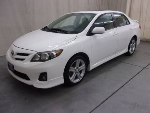 2013 Toyota Corolla for sale at Paquet Auto Sales in Madison OH