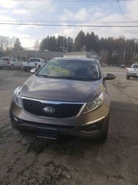 2015 Kia Sportage for sale at MGM Auto Sales in Cortland NY
