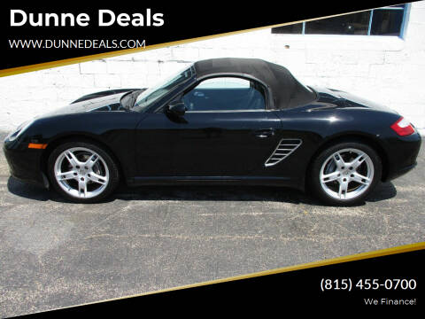2008 Porsche Boxster for sale at Dunne Deals in Crystal Lake IL