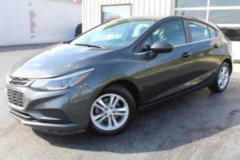 2017 Chevrolet Cruze for sale at Platinum Motors LLC in Reynoldsburg OH
