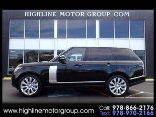 2015 Land Rover Range Rover for sale at Highline Group Motorsports in Lowell MA