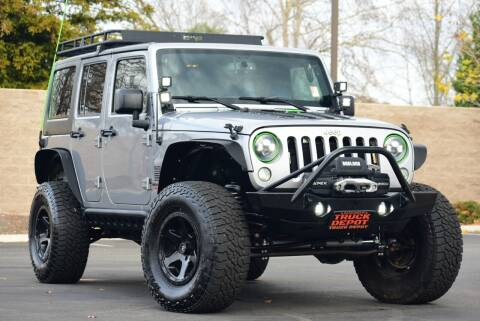2016 Jeep Wrangler Unlimited for sale at Sac Truck Depot in Sacramento CA