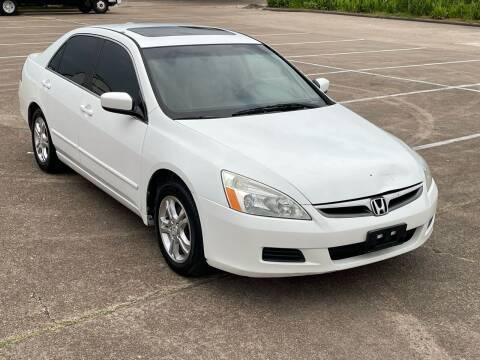 2007 Honda Accord for sale at Hadi Motors in Houston TX