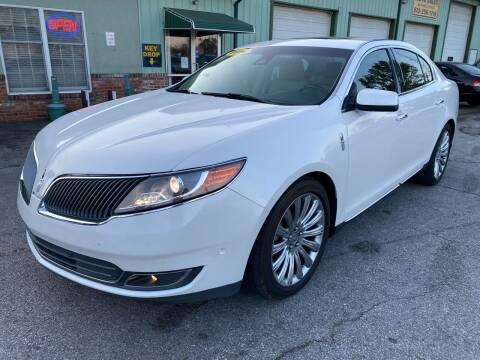 2014 Lincoln MKS for sale at ASHLAND AUTO SALES in Columbia MO