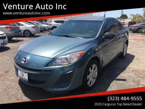 2010 Mazda MAZDA3 for sale at Venture Auto Inc in South Gate CA