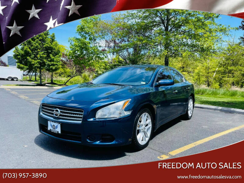 2010 Nissan Maxima for sale at Freedom Auto Sales in Chantilly VA
