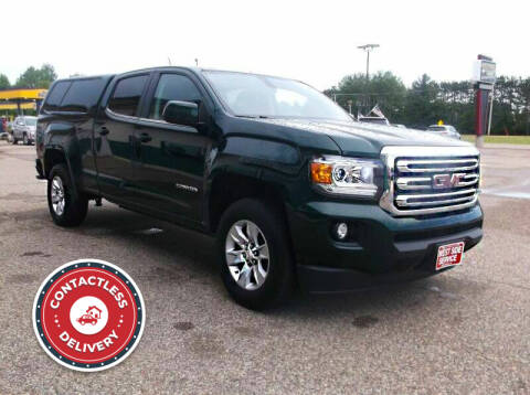 2015 GMC Canyon for sale at West Side Service in Auburndale WI