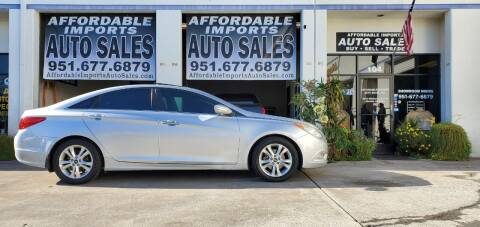 2013 Hyundai Sonata for sale at Affordable Imports Auto Sales in Murrieta CA
