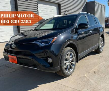 2016 Toyota RAV4 Hybrid for sale at Philip Motor Inc in Philip SD