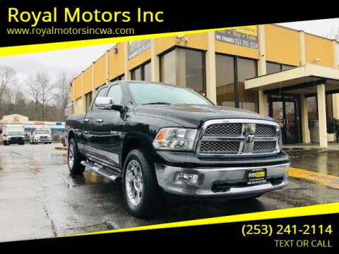 2009 Dodge Ram Pickup 1500 for sale at Royal Motors Inc in Kent WA