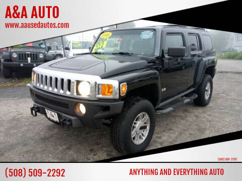 2006 HUMMER H3 for sale at A&A AUTO in Fairhaven MA