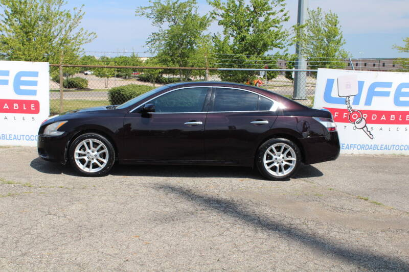 2014 Nissan Maxima for sale at LIFE AFFORDABLE AUTO SALES in Columbus OH