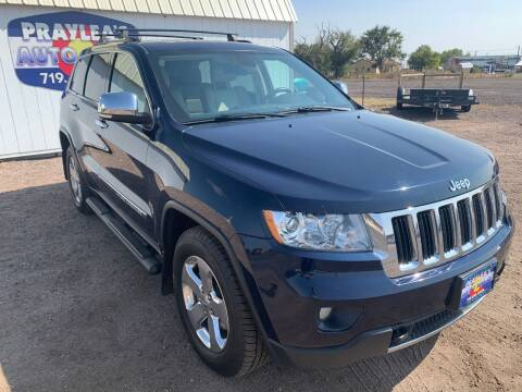 2013 Jeep Grand Cherokee for sale at Praylea's Auto Sales in Peyton CO