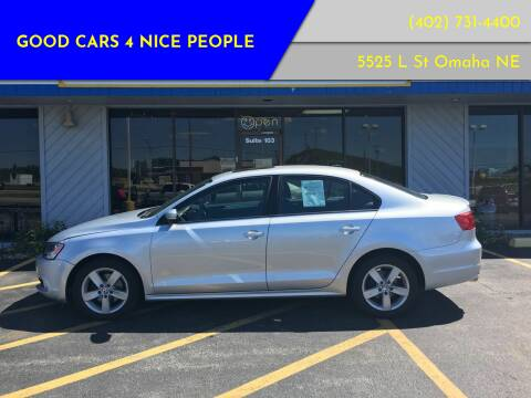2011 Volkswagen Jetta for sale at Good Cars 4 Nice People in Omaha NE
