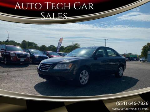 2009 Hyundai Sonata for sale at Auto Tech Car Sales in Saint Paul MN